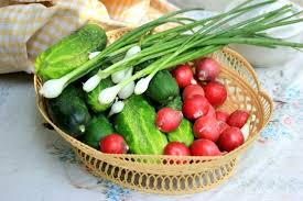 Ранні овочі: профілактика отруєнь