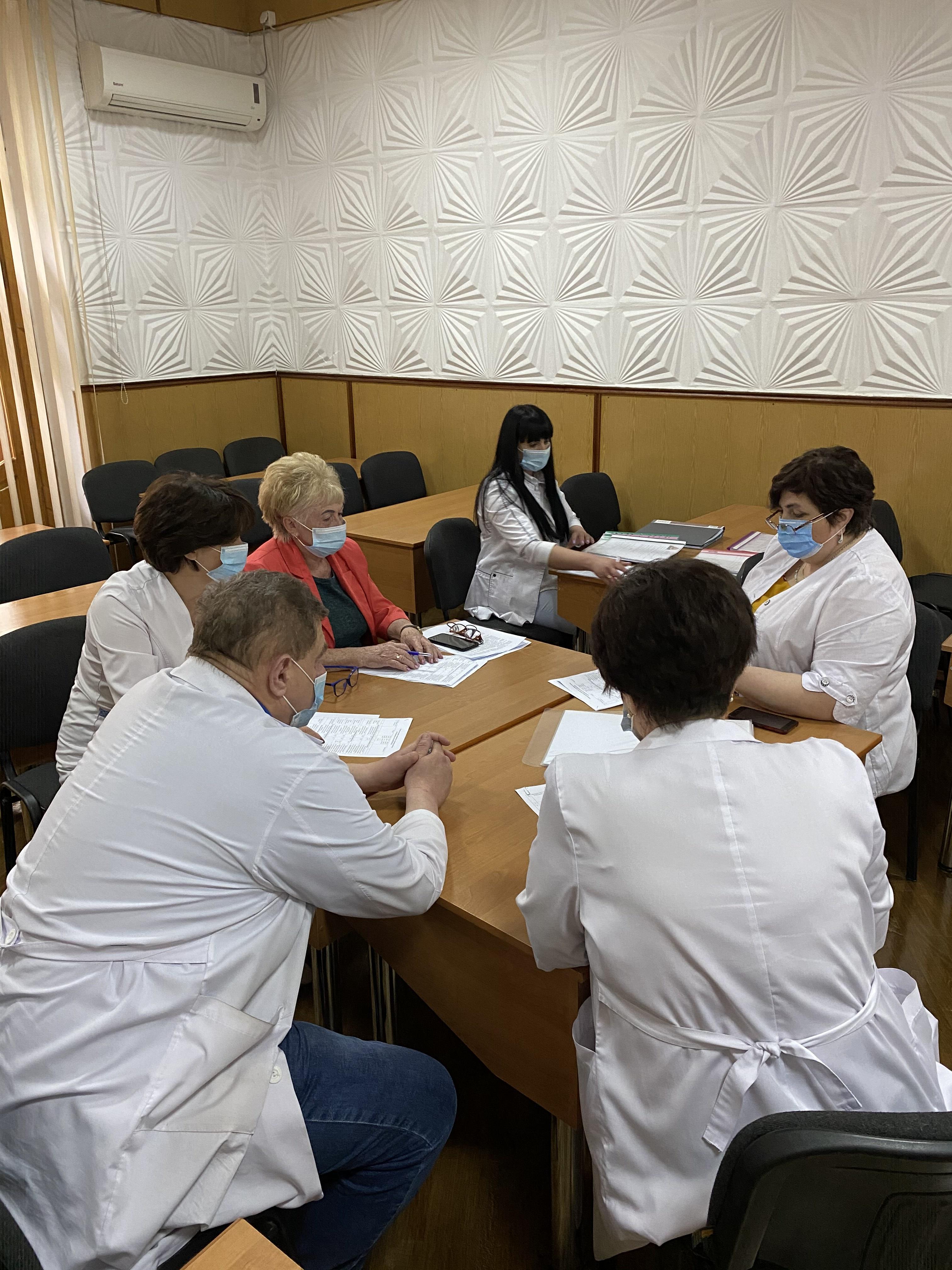 Відбулась  атестація молодших спеціалістів з медичною освітою