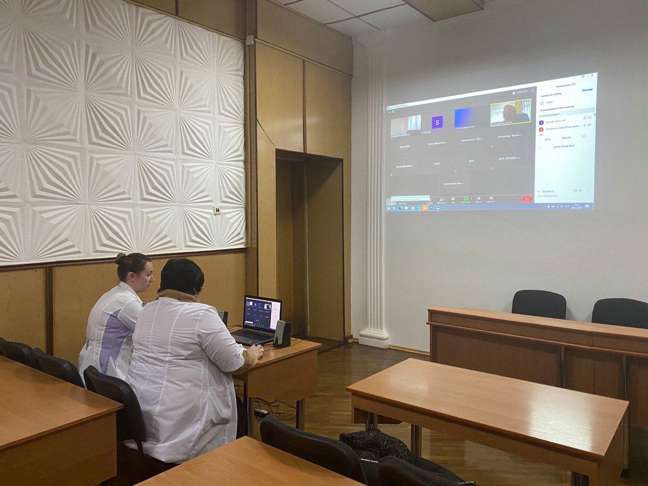 Онлайн-тренінг «Про впровадження програми профілактики інфекцій та інфекційного контролю в закладах охорони здоров'я області»