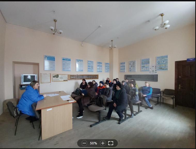 """Навчання працівників вокзалів станції """"Івано-Франківськ"""" та """"Коломия"""""""