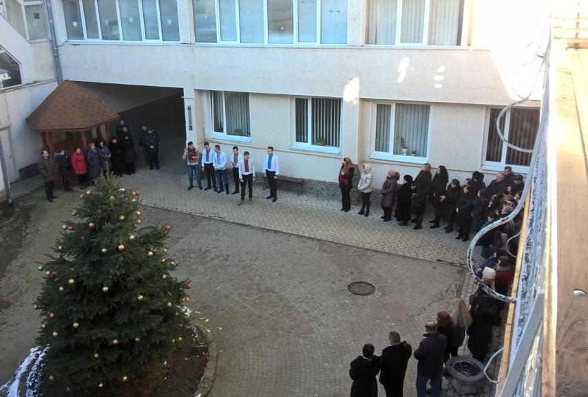В Івано-Франківському  обласному лабораторному центрі провели розколяду