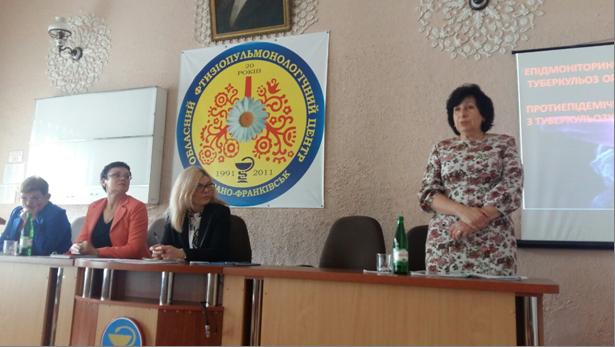 Проведено курси для районних фтизіатрів та заступників головних лікарів медзакладів