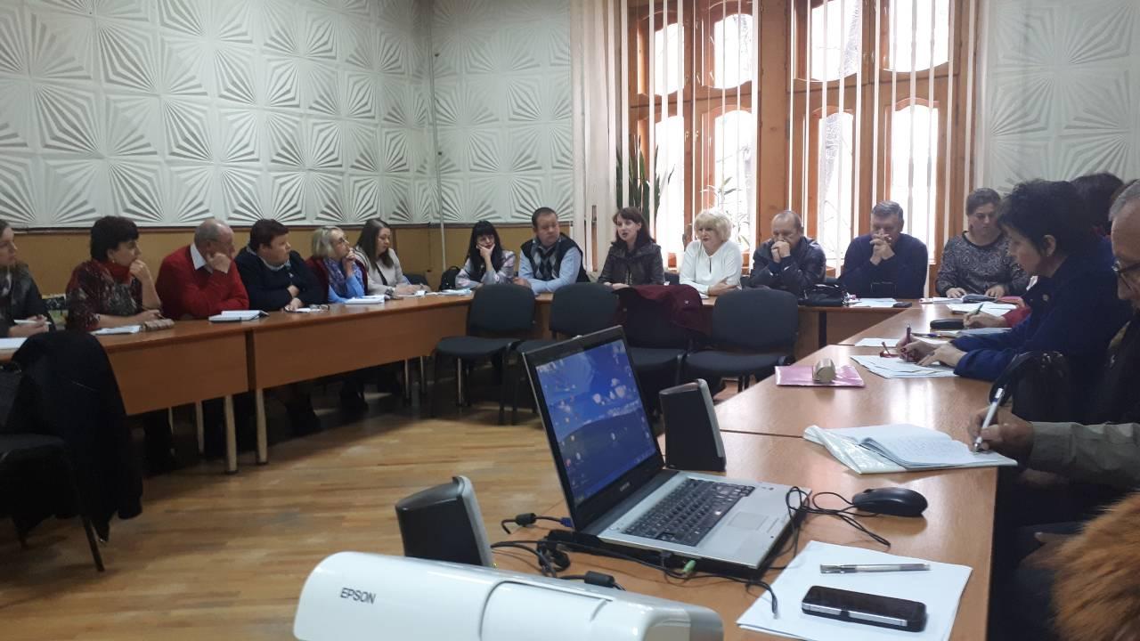 Відбулось семінарське заняття для фахівців територіальних філій