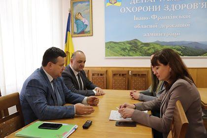 Представники Центру громадського здоров'я МОЗ України відвідали Івано-Франківськ з  премоніторинговим візитом
